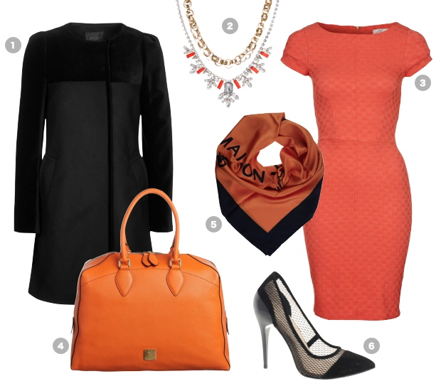black-orange-outfit