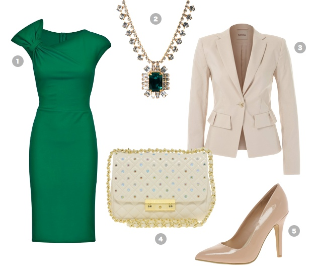 emerald-green-outfit-business-office-dress