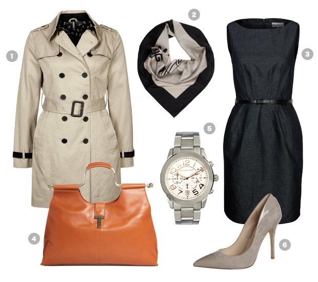 trenchcoat-outfit-etuikleid-shift-dress