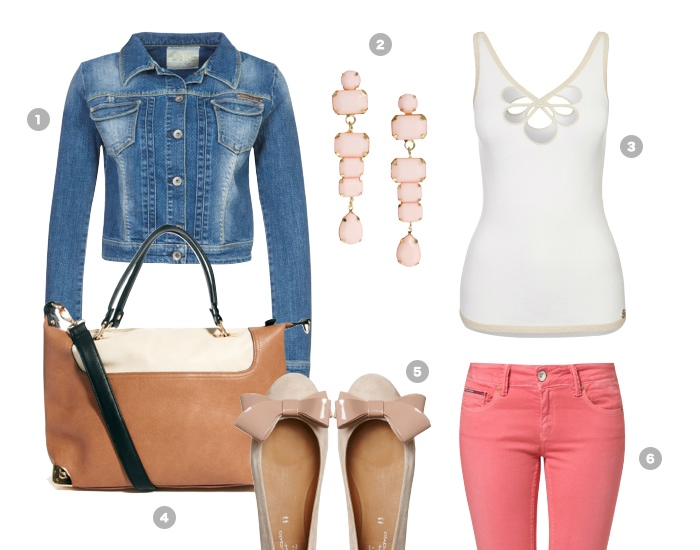 coral-pink-jeans-outfit-hose-trend-sommer-2013