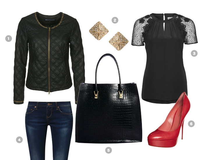 business-outfit-quilted-leather-jacket
