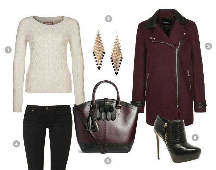 burgundy-black-outfit-asos-ledertasche